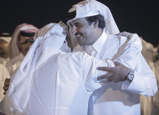 وكالة الاستقلال : المخطوفون القطريون بالعراق بصحة جيدة وكانوا بمكان مريح